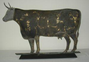 19th C. Cow Weathervane