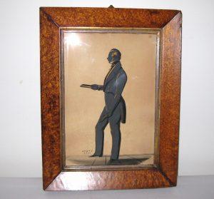 Charles Samuel Herve II, Silhouette of a Gentleman