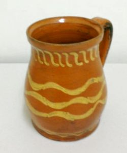French/German Redware Jug