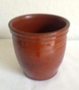 John Bell Redware Jar