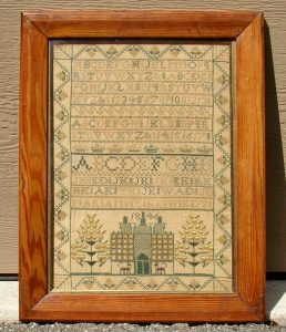 Sampler from Perth, Scotland