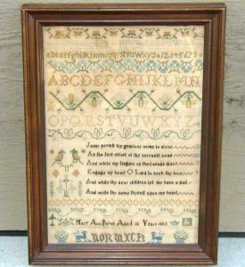 Mary Ann Payne Sampler