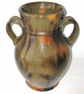 Medinger Two Handled Vase