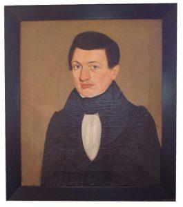 19th C. Prior-Hamblin School Portrait