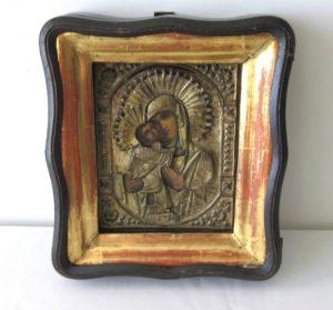 Russian Icon in Box