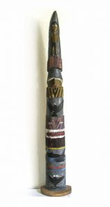 Northwest Coast Salish Totem Pole