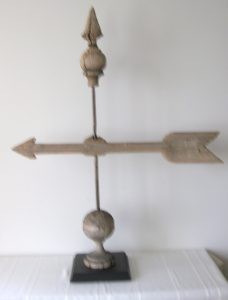 Wooden Arrow Weathervane