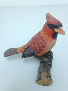 Carved Cardinal