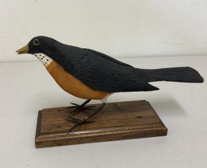 Carved Robin
