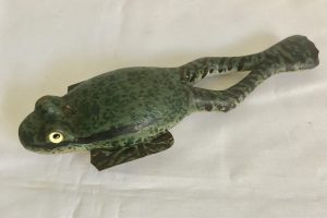 Frog Ice Fishing Spearing Decoy
