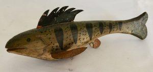 Stylized Perch Spearing Decoy
