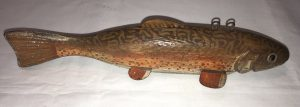 Speckled Trout Ice Fishing Spearing Decoy