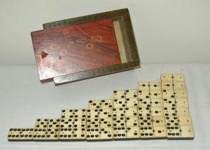 19th C. Dominoes Set
