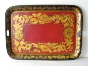 19th C. Painted Tole Trays