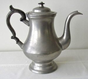 Curtis Pewter Coffee Pot