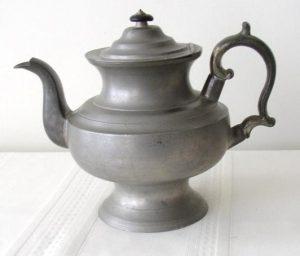 Rufus Dunham Pewter Teapot