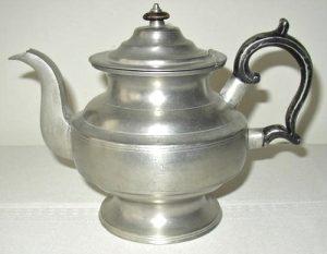 Dunham Pewter  Teapot