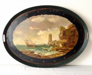 19th C. Serving Tray