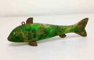 Carved Fish Decoy