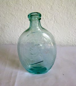 Washington/Sheaf of rye Flask