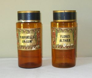 Pair French Apothecaries