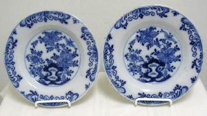 Pair of Delft Plates