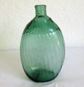 Medium Green Pitkin Flask