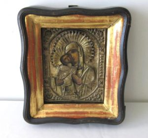 Russian Icon in Box