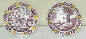 A nice pair of Dutch Delft Chargers