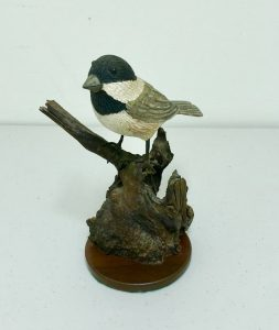 Carved Chicadee