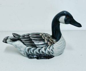 Carved Canada Goose