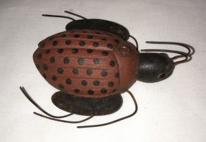 Lady Bug Ice Fishing Decoy