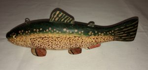 Speckled Trout Ice Spearing decoy