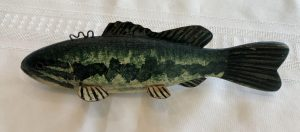 Small Mouth Bass Ice Fishing Decoy
