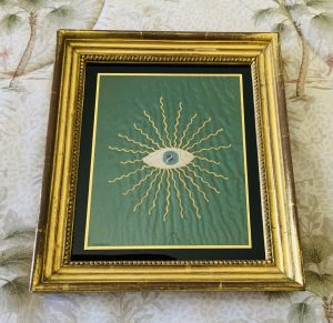 "Odd Fellows ""Seeing Eye"" Embroidery"