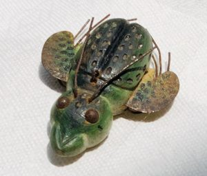 Rare Small Beetle Ice Fishing Spearing Decoy