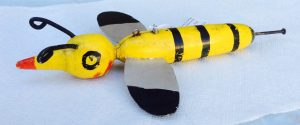 Extra Large Ice Fishing Bumblebee Spearing Decoy