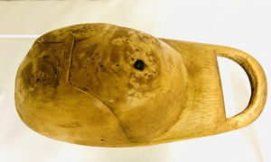 Old Canoe Cup in the Carved Hunters Cap Form