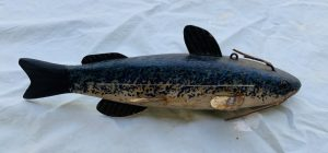 Larger Catfish Ice Fishing Spearing Decoy