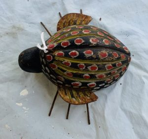 Rare Small Lady Bug Ice Fishing Spearing