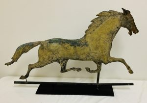 "Period "" Ethan Allen"" Running Horse Weathervane —— Late 19th to Early 20th. C."