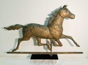 Mid-1900's Running Horse Weathervane