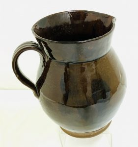 Large Redware Pitcher