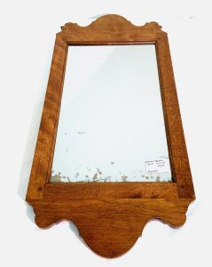 Early Smaller New Hampshire Queen Ann Birch Mirror